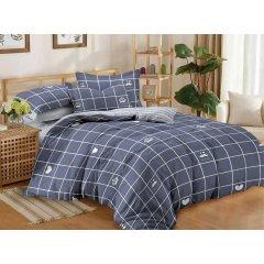 Двуспальное постельное белье Бязь Gold - Усы и корона