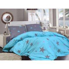 Двуспальное постельное белье Бязь Gold - Звезды в подарок