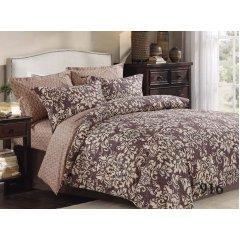 Двуспальное постельное белье Бязь Gold - Пряный вензель