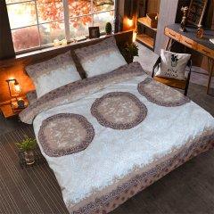 Двуспальное постельное белье Бязь Gold - Яблуныця