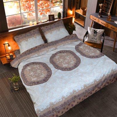 Полуторное постельное белье Бязь Gold - Яблуныця