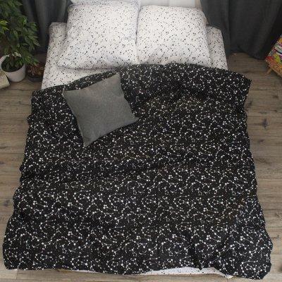 Двуспальное постельное белье Бязь Gold - Пояс Ориона
