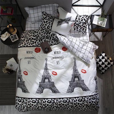 Семейное постельное белье Бязь Gold - Французские поцелуйчики