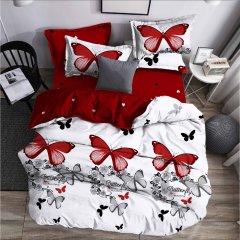 Семейное постельное белье Бязь Gold - Поцелуй бабочки