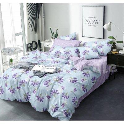 Двуспальное постельное белье Бязь Gold - Лаванда Гроссо