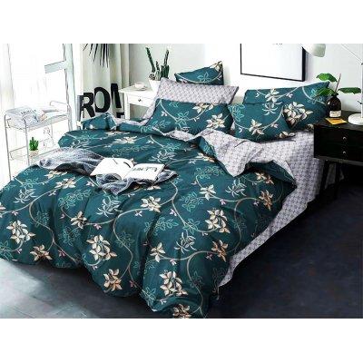 Полуторное постельное белье Бязь Gold - Эффир