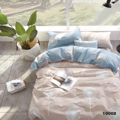 Полуторное постельное белье Бязь Gold - Одуван Фан-фан