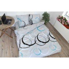 Семейное постельное белье Бязь Gold - Круги на озере