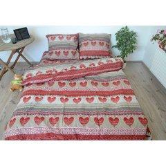 Двуспальное постельное белье Бязь Gold - Закарпатская вышиванка