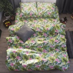 Семейное постельное белье Бязь Gold - Тропикано