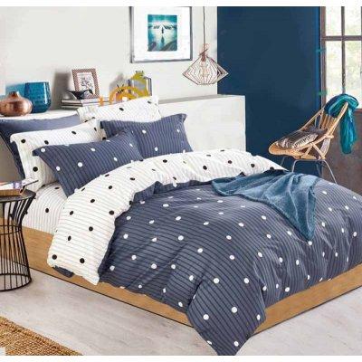 Семейное постельное белье Бязь Gold - Шарики полосочки