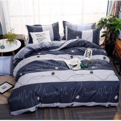 Двуспальное постельное белье Бязь Gold - Цветок молния
