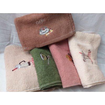 Полотенце для рук - Махра - 20х50 см