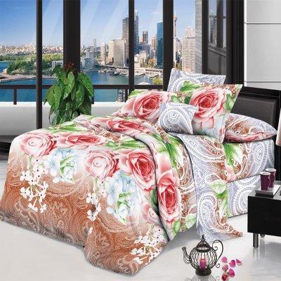 Семейное постельное белье София 3D (микросатин) - Чудное утро