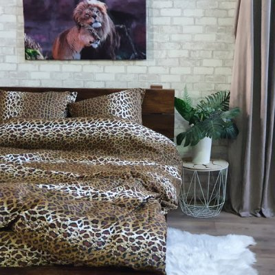 Постельное белье София 3D - Леопард