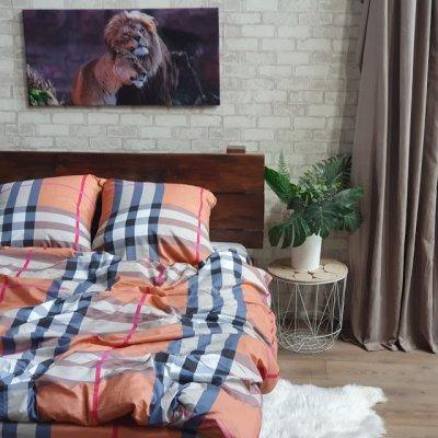 Семейное постельное белье София 3D (микросатин) - Сплит