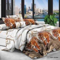 Полуторное постельное белье София 3D (микросатин) - Ричард Паркер
