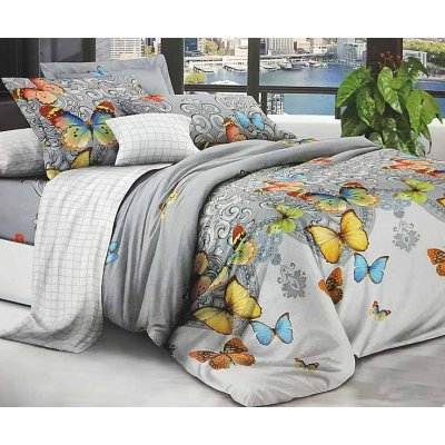 Постельное белье София 3D - Вензеля и бабочки