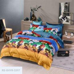 Двуспальное постельное белье Бязь Gold - Мультик