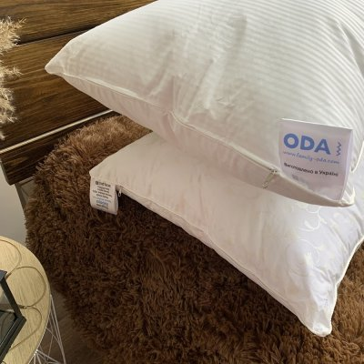Подушка  ЭКОпух с кантом на молнии - ODA