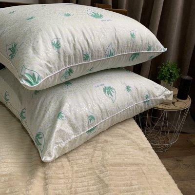 Подушка микрофибра наполнитель Aloe Vera
