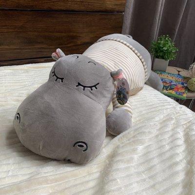 Игрушка - плед подушка - Бегемот