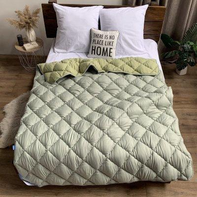 Одеяло зима микрофибра напол. холлофайбер ODA (зеленое)