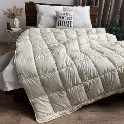 Одеяло зима ткань Микрофибра напол. Бамбуковое волокно - ODA - 155х210 (молочное)