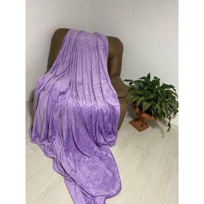 Покрывало - Вензель - Фиолетовое