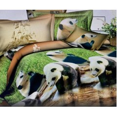 Двуспальное постельное белье Бязь Gold - Дикая природа
