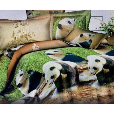 Полуторное постельное белье Бязь Gold -Дикая природа