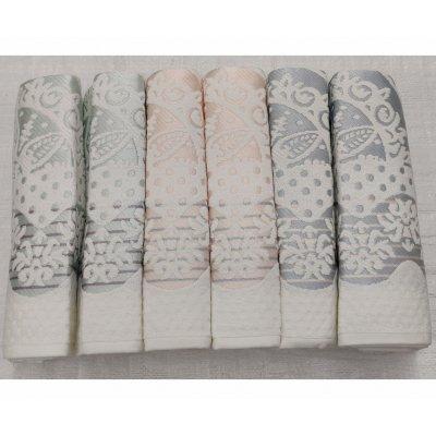 Лицевые турецкие полотенца Saheser Blanco Havlu