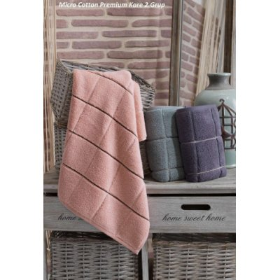 Турецкие полотенца в сауну Cestepe Premium Kare 2 Grup (3шт.-90х150 см)