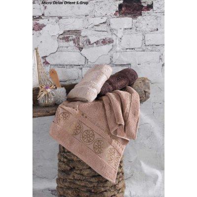 Турецкие полотенца в сауну Cestepe Micro Delux Orient 5 Grup (3шт.-90х150 см)