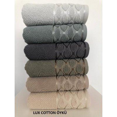 Турецкие полотенца Lux VIP Cotton (6шт.-70х140 см) - Oyku