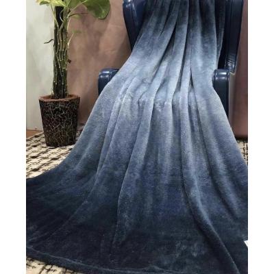 Покрывало - плед - Пушок (синий)