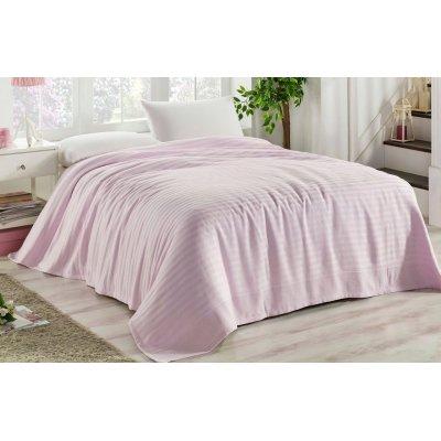 Покрывало вафельное La Rita 220х240 - Pink