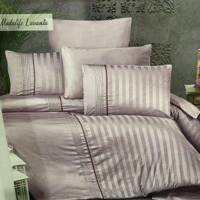 Турецкое постельное белье DELUX Satin - Modalibe Lavanta