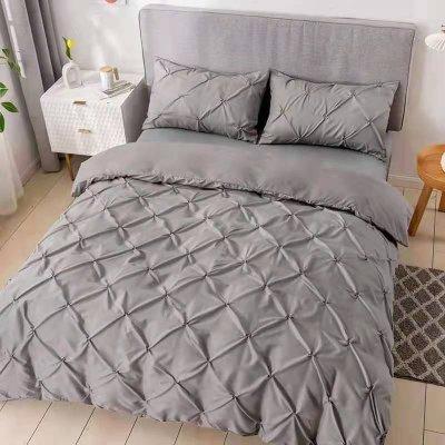 Двуспальное постельное белье Luxury Collection - Серое