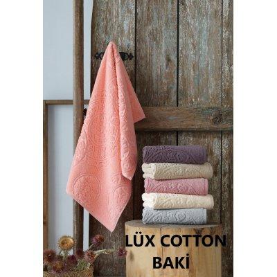 Турецкие полотенца Lux VIP Cotton (6шт.-50х90 см) - Baki