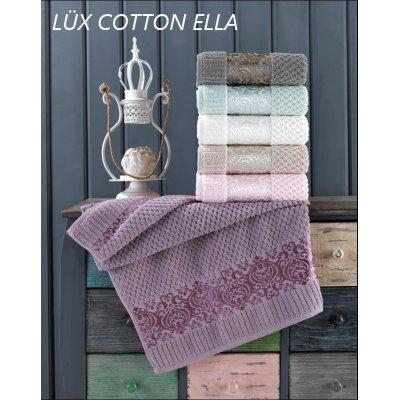 Турецкие полотенца Lux VIP Cotton (6шт.-50х90 см) - Ella