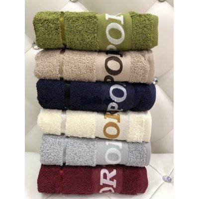 Турецкие полотенца VIP Cotton (6шт.-50х90 см) - Sport