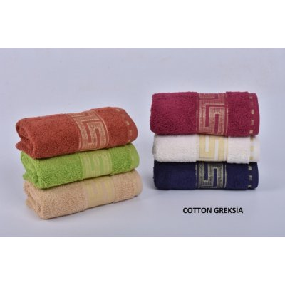 Турецкие полотенца VIP Cotton (6шт.-50х90 см) - Greksia