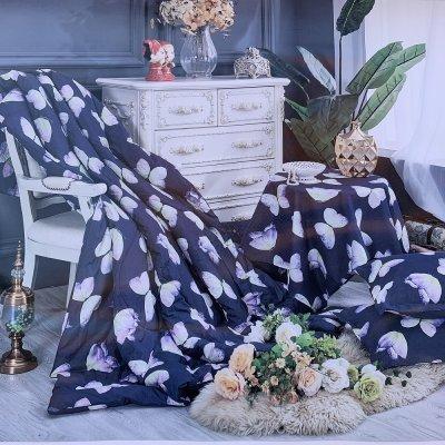 Евро постельное белье Laura Grand - Butterfly