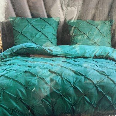 Евро постельное белье Luxury Collection - Зеленое