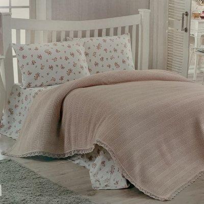 Комплект постельного белья с вафельным покрывалом DO&CO - Somon