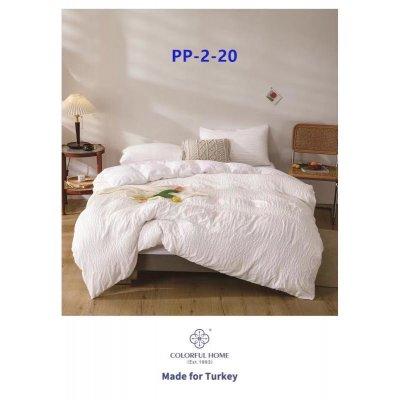 Евро постельное белье Сатин - Нежность - Белое