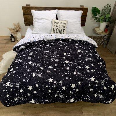 Одеяло компаньон  4 сезона наполнитель силикон (звездное небо)