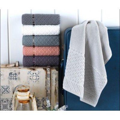 Турецкие полотенца Lux VIP Cotton (6шт.-50х90 см) - Desa