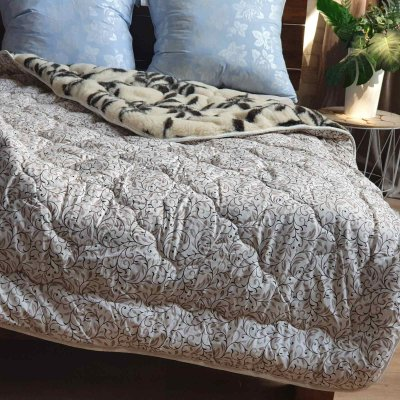 Одеяло Коттон плюс мех (семечка) - 145х210